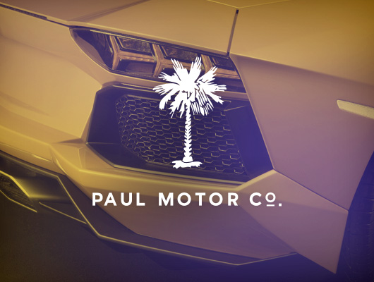 Paul Motor Company / Web design