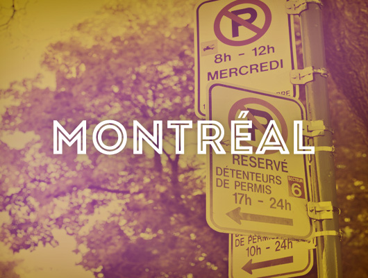 Graphic Design / Montreal Postcards