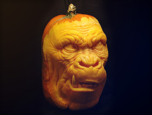 Carving Horror: deadly pumpkin sculptures from Villafane studios