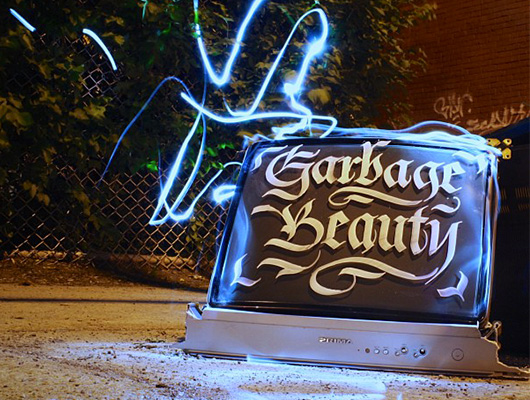 Garbage beauty: From trash to art