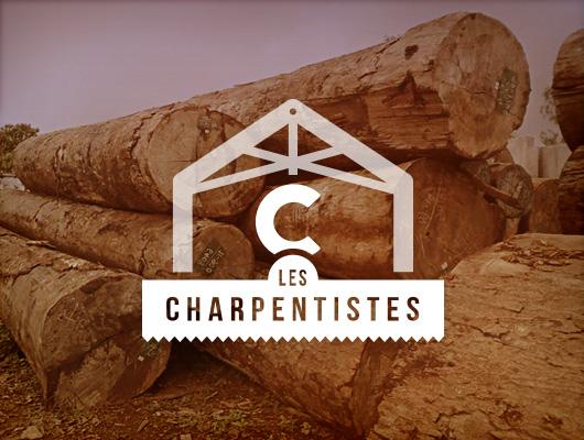 Logo & Web Design / Les Charpentistes