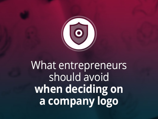 What entrepreneurs should avoid when deciding on a company logo