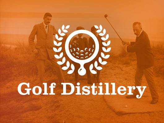 Design de logo / Golf Distillery