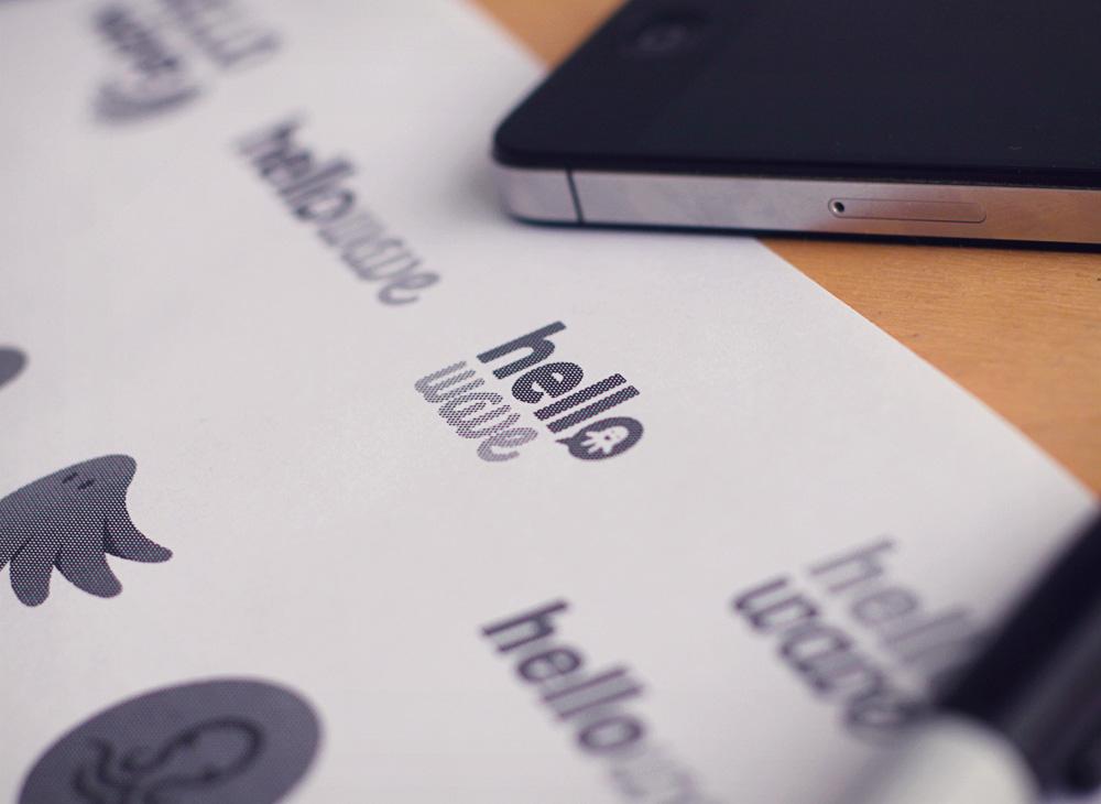 branding startup tests imprimmés
