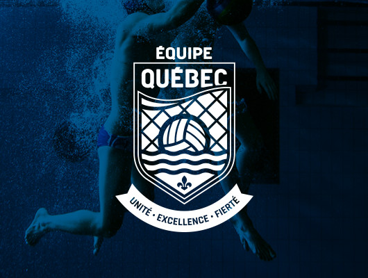 Logo Design / Team Québec water polo