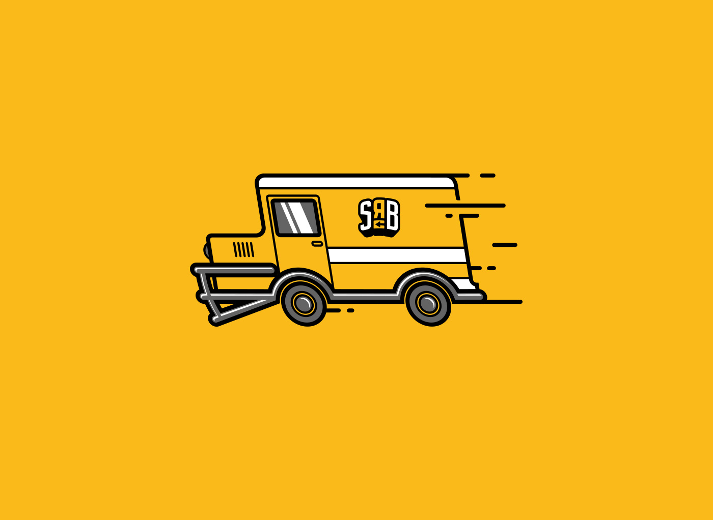 Delivery van design - ShopRunBack