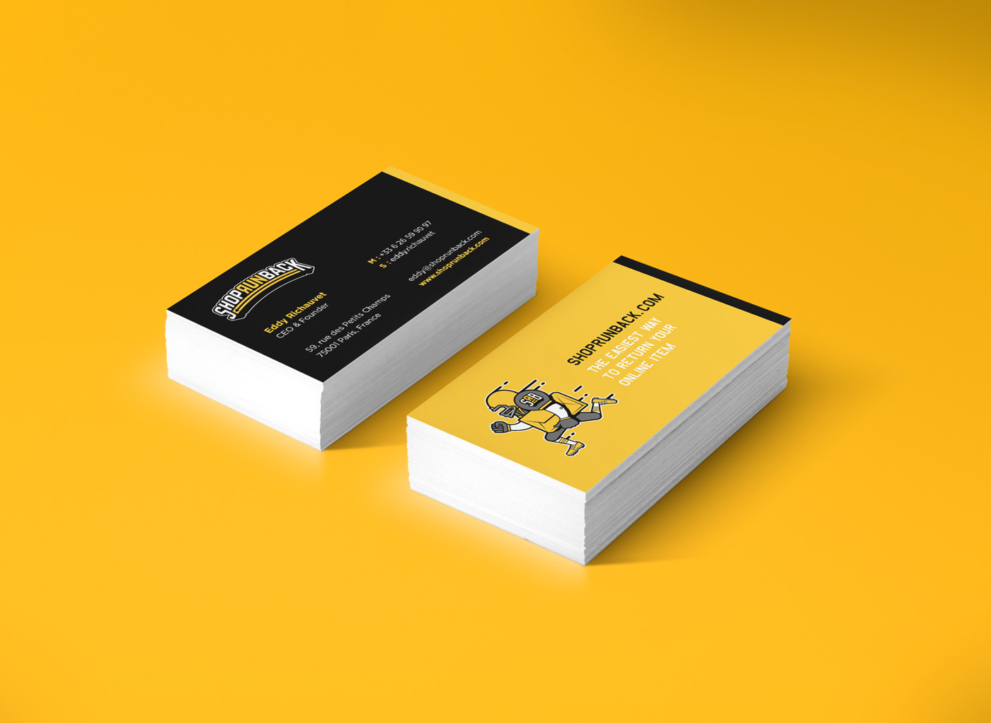 Business Cards - ShopRunBack