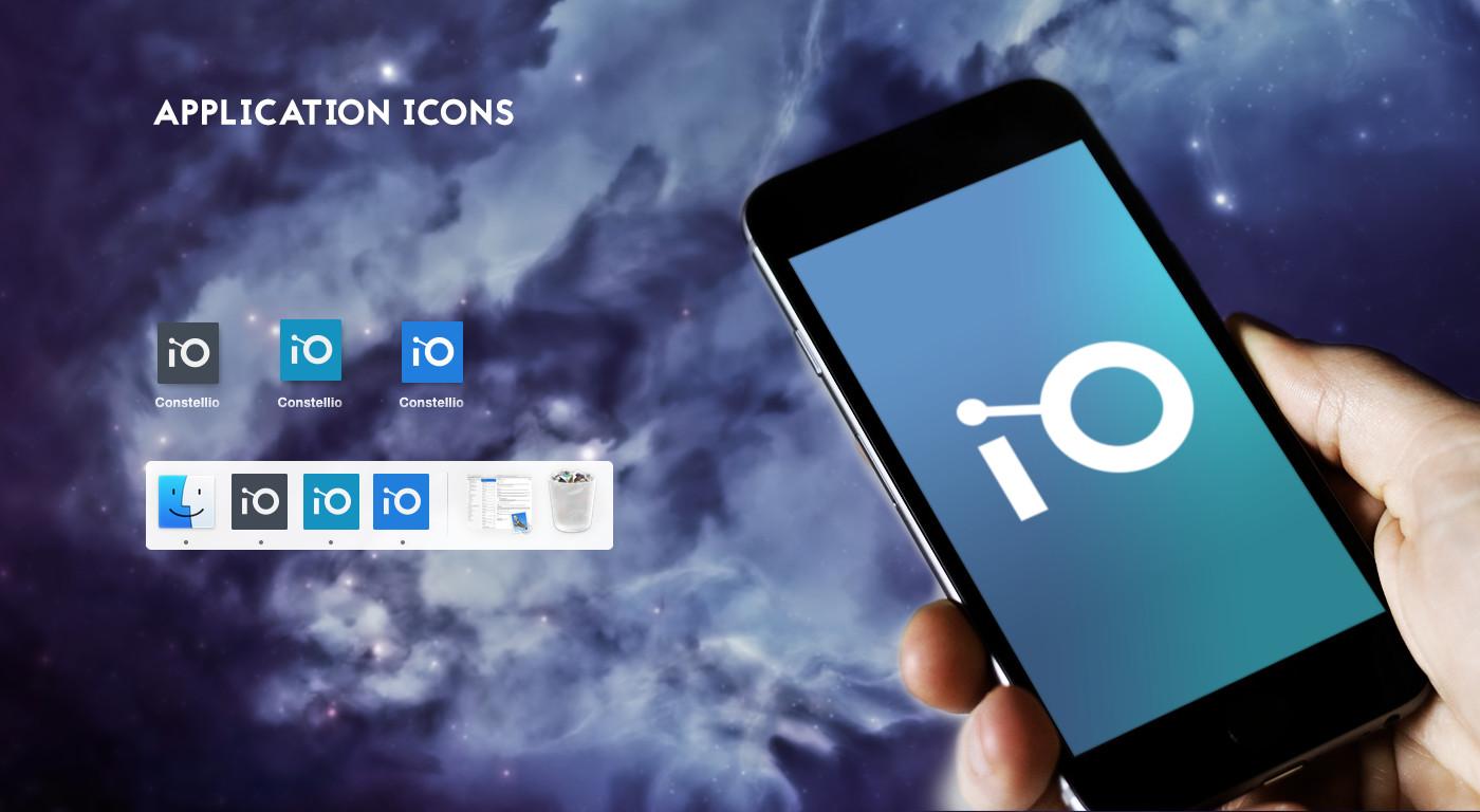 Application Icons Design - Constellio