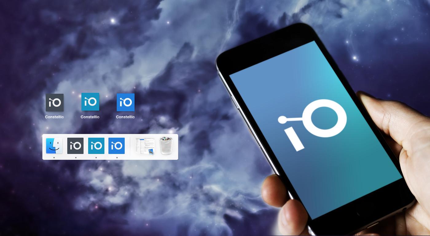 Icônes pour l'application