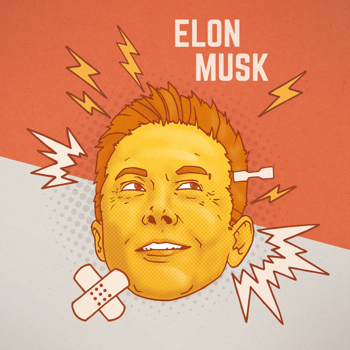 Elon Musk Illustration