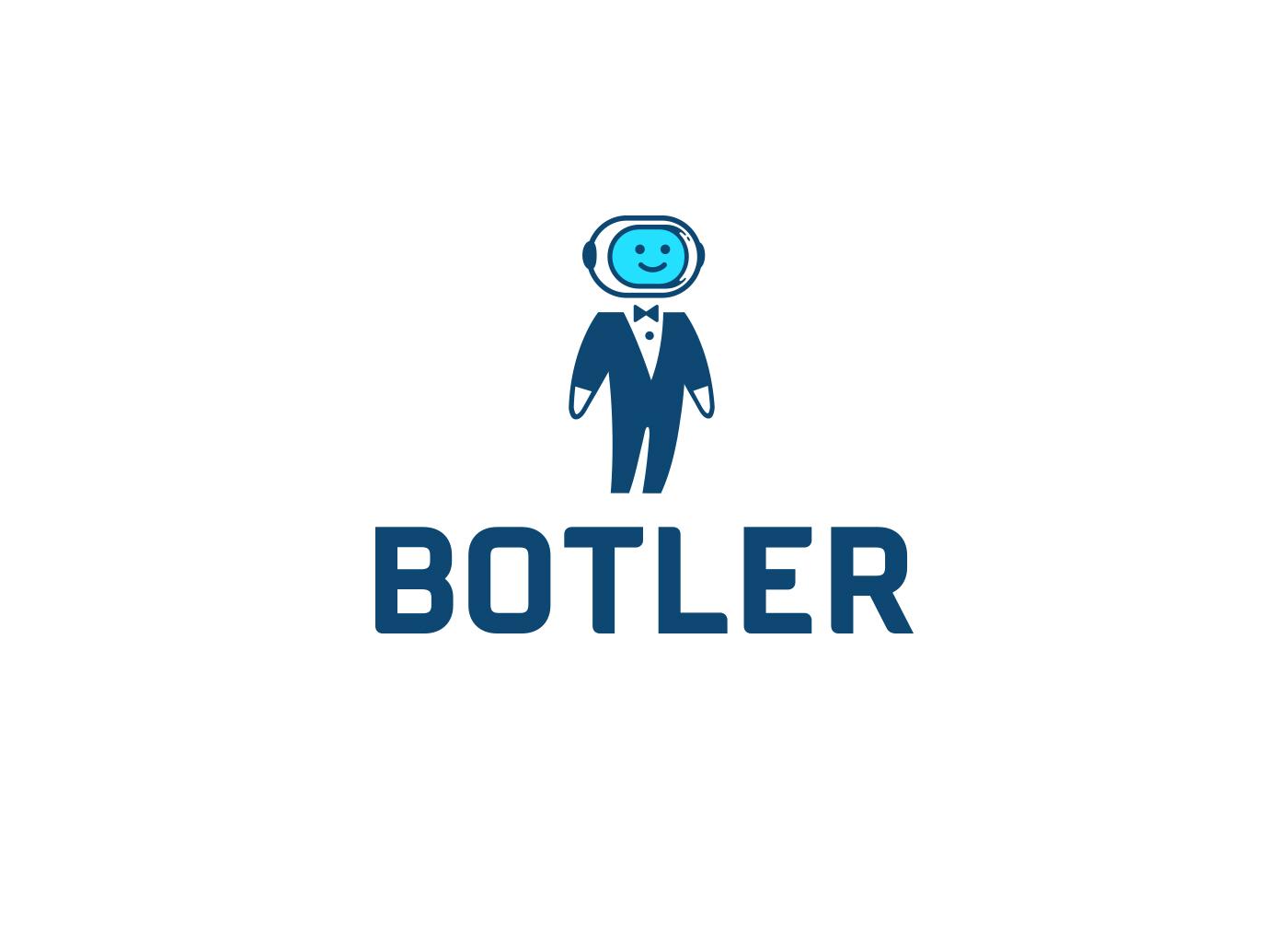 Botler Logo Design