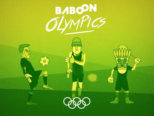 Baboon Olympics