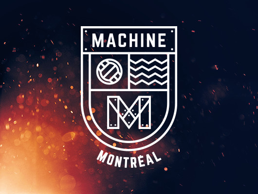 Logo Design Montréal Machine