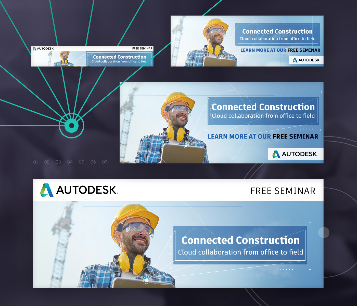 HTML5 Animated banners for AutoDesk