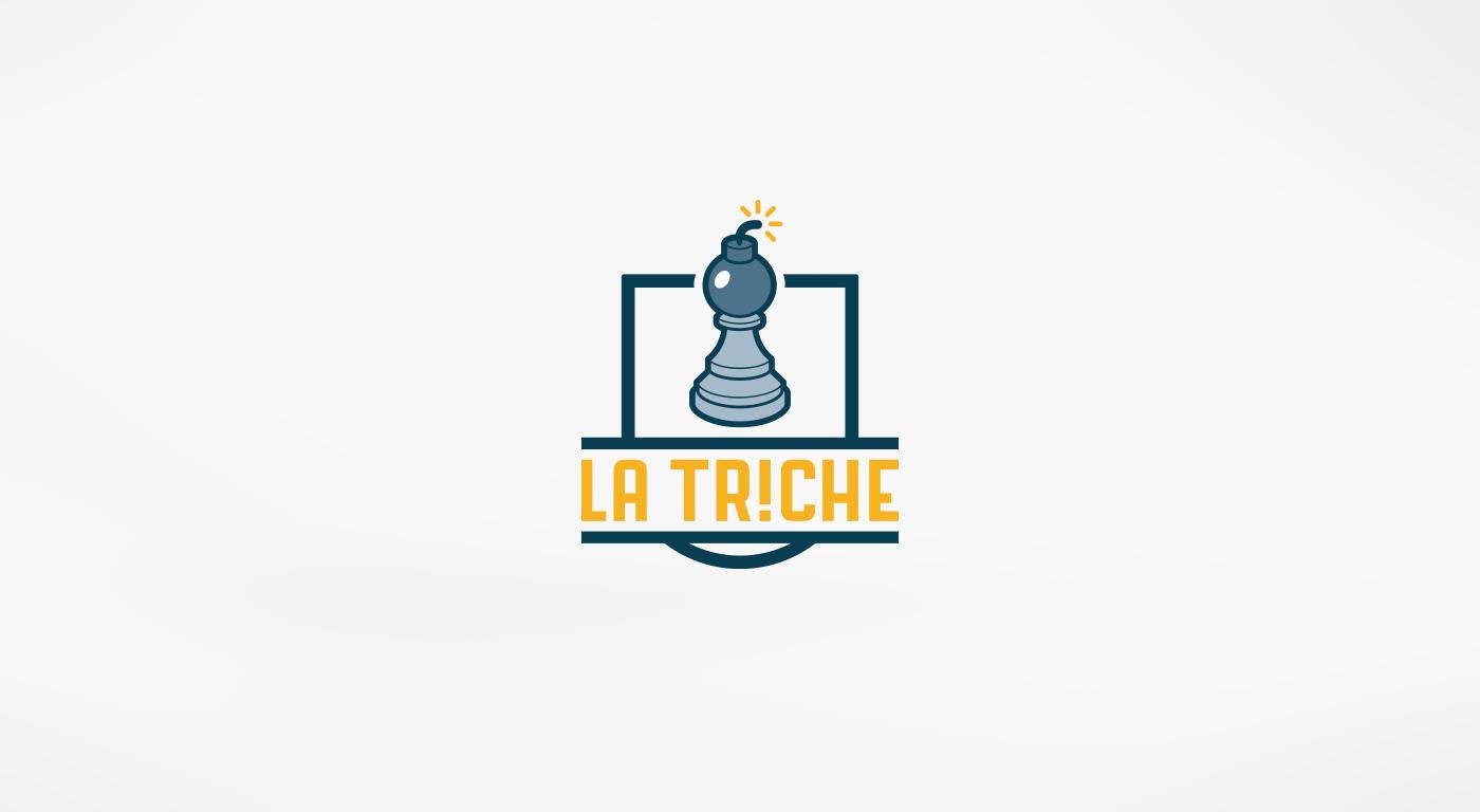 Création Logo pour La Triche