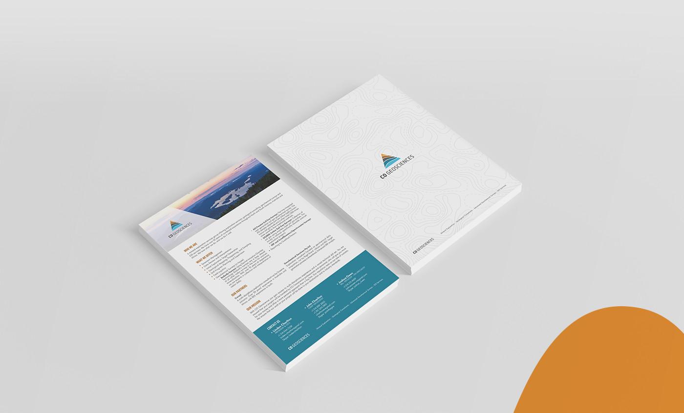Flyer design CO Geosciences