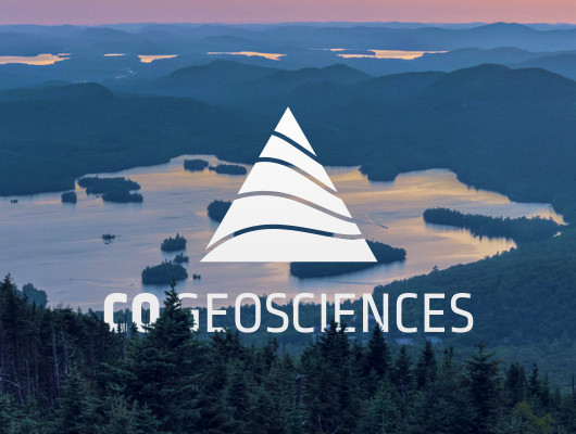 Logo and flyer design for CO Geosciences