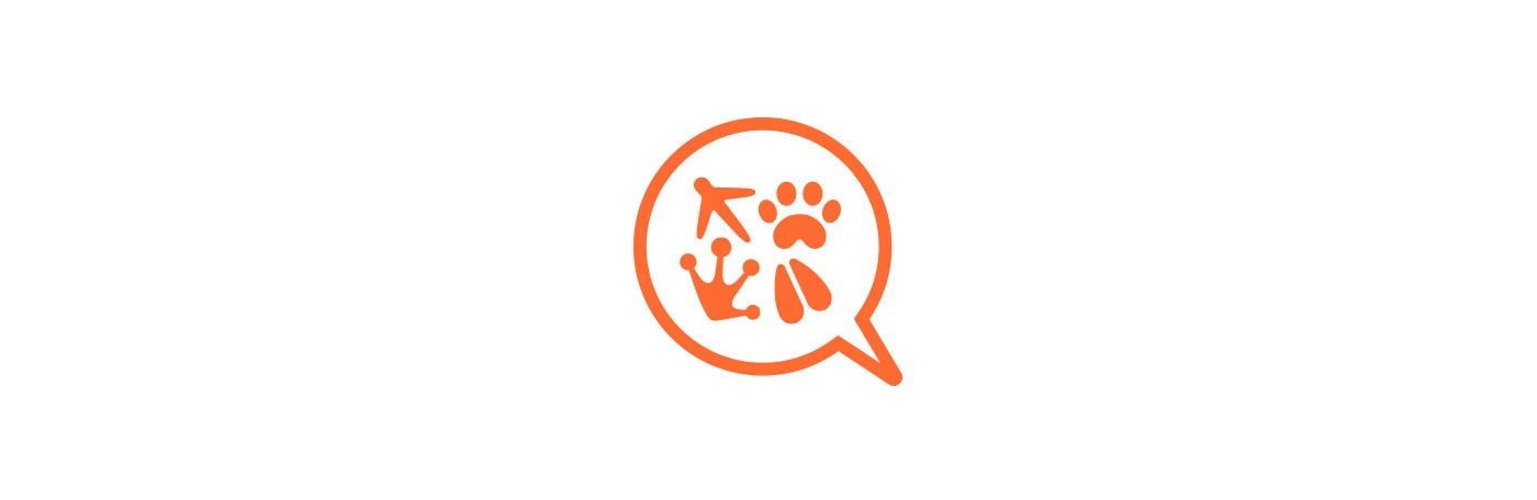 Animals icon design for petsqui