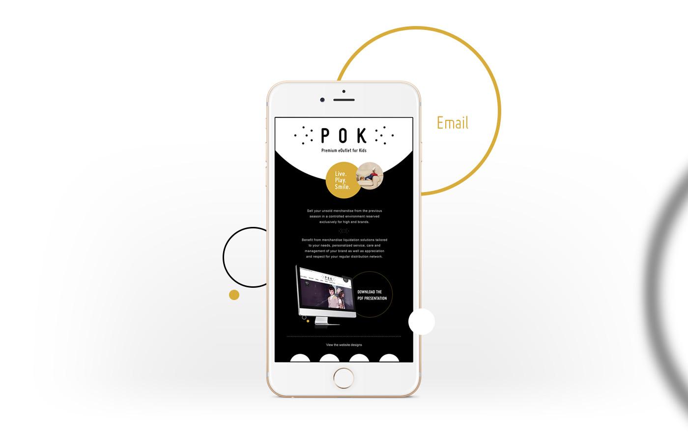 html email design pok