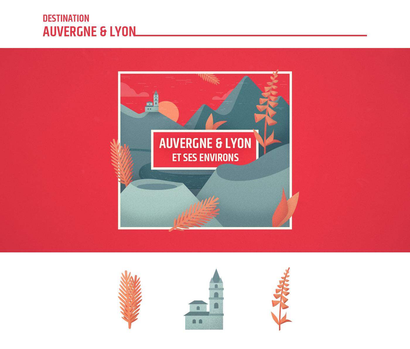 Illustration Auvergne - France Nature