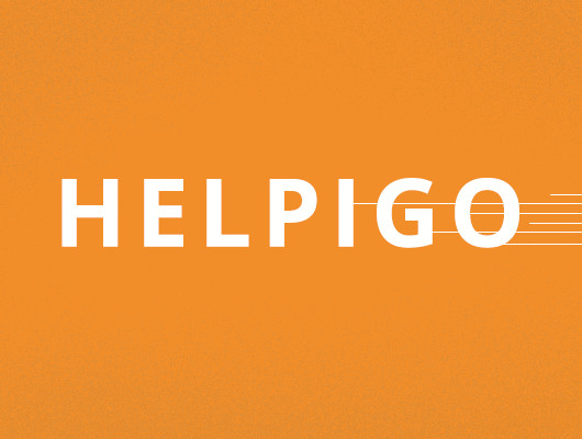 Characters and icons design. Helpigo.